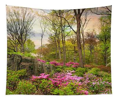 The Azalea Garden Tapestry