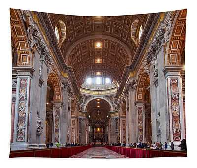 The Basilica Of San Pietro Tapestry