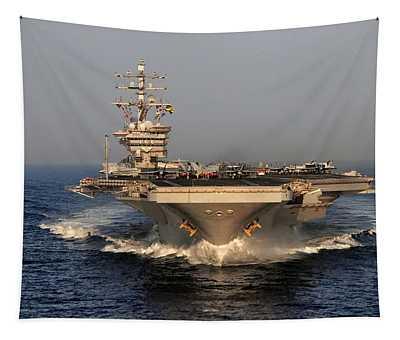 Uss Dwight D. Eisenhower Tapestry
