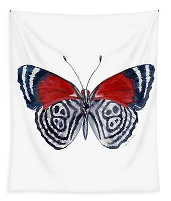 37 Diathria Clymena Butterfly Tapestry