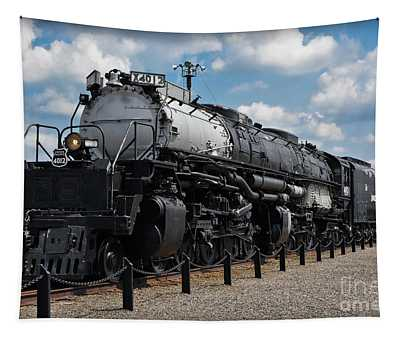 Tapestry featuring the photograph 4-8-8-4 Big Boy Locomotive by Gary Keesler