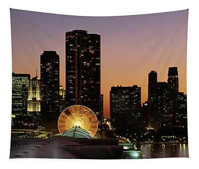 Chicago, Illinois, Usa Tapestry