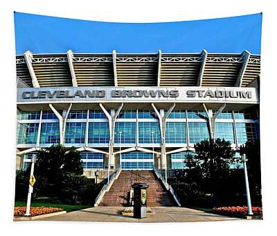 Cleveland Browns Stadium Tapestry