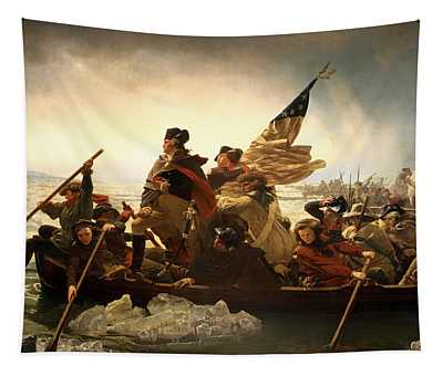 Washington Crossing The Delaware Tapestry