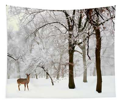 Winter's Breath Tapestry