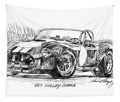 427 Shelby Cobra Tapestry