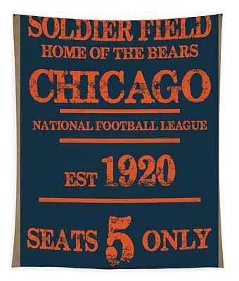 Chicago Bears Tapestry