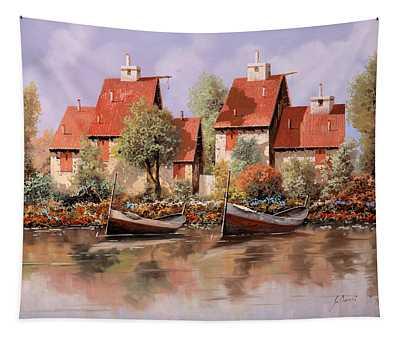 5 Case E 2 Barche Tapestry
