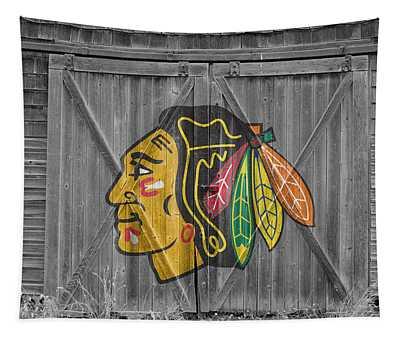 Chicago Blackhawks Tapestry