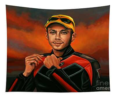 Valentino Rossi  Tapestry