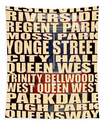 501 Streetcar Toronto Tapestry
