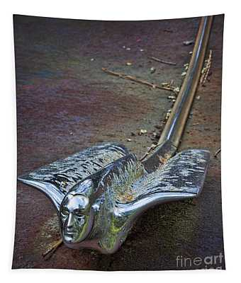 50s Cadillac Hood Ornament #2 Tapestry