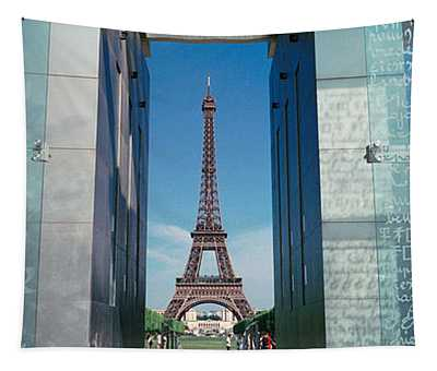 Eiffel Tower Paris France Tapestry