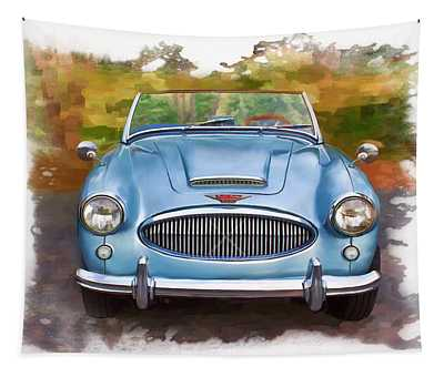 62 Austin Healy Tapestry