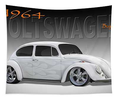 64 Volkswagen Beetle Tapestry