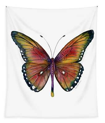 66 Spotted Wing Butterfly Tapestry