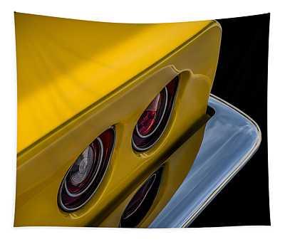 '69 Corvette Tail Lights Tapestry
