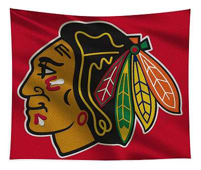 Chicago Blackhawks Uniform Tapestry