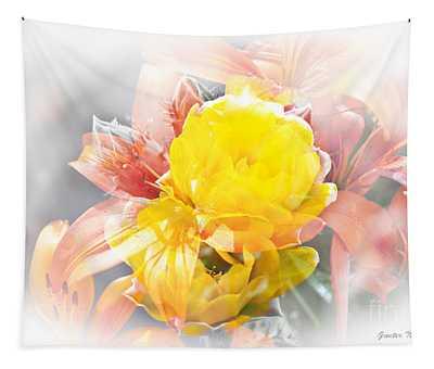Flower Burst Tapestry