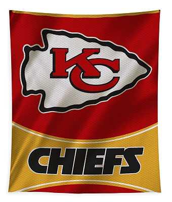 Kansas City Chiefs Uniform Tapestry