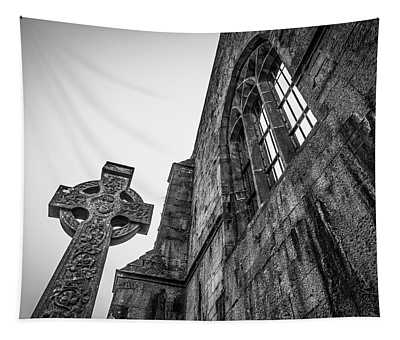 700 Years Of Irish History At Quin Abbey Tapestry