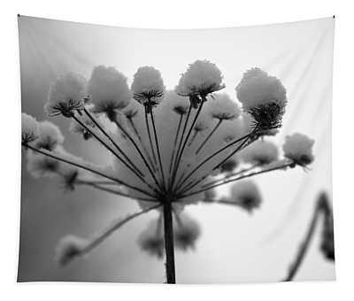 Winter Flowers Tapestry