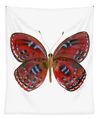 81 Paralaxita Butterfly Tapestry