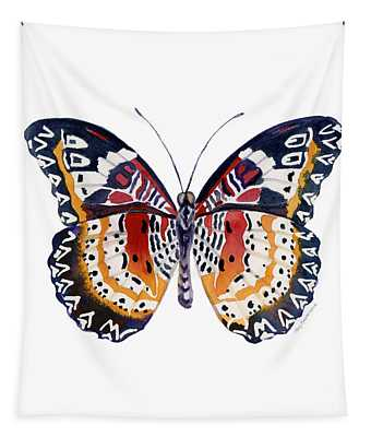 94 Lacewing Butterfly Tapestry