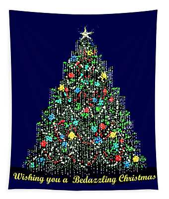 A Bedazzling Christmas Tapestry