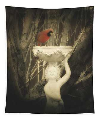 A Cardinal  Tapestry