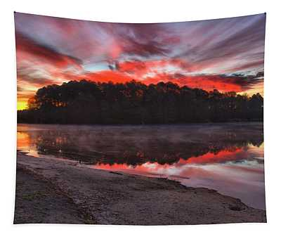 A Christmas Eve Sunrise Tapestry