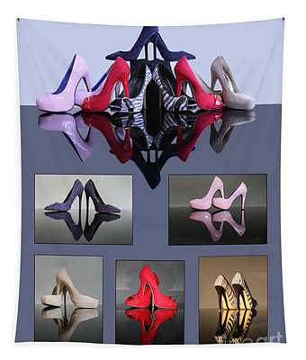 A Collection Of Stiletto Shoes Tapestry