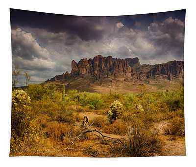 A Day At The Superstitions  Tapestry