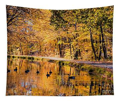 A Golden Afternoon Tapestry