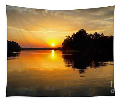 A Golden Moment Tapestry