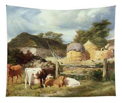 A Highland Croft, 1873 Tapestry