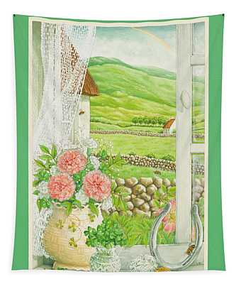 A Lucky View Tapestry