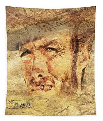 A Man With No Name Tapestry