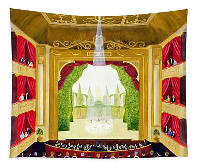 A Night At The Ballet Tapestry