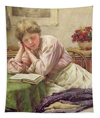 A Quiet Read Tapestry