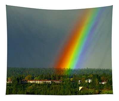A Rainbow Blessing Spokane Tapestry