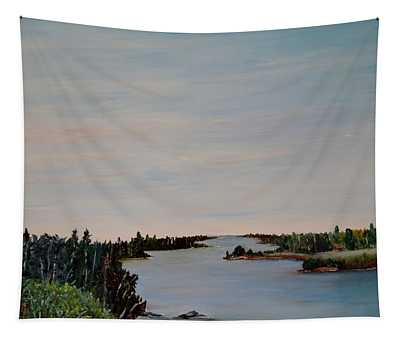 A River Shoreline Tapestry