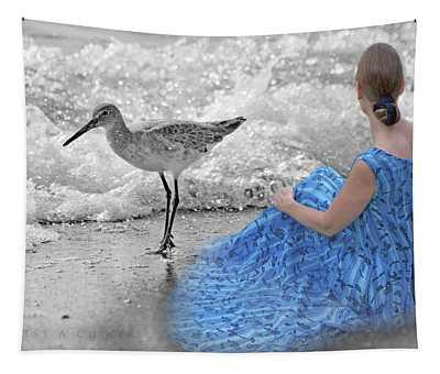 A Sandpiper's Dream Tapestry