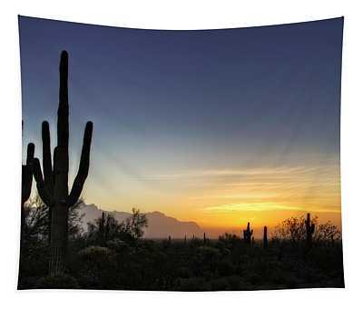 A Sonoran Sunrise  Tapestry