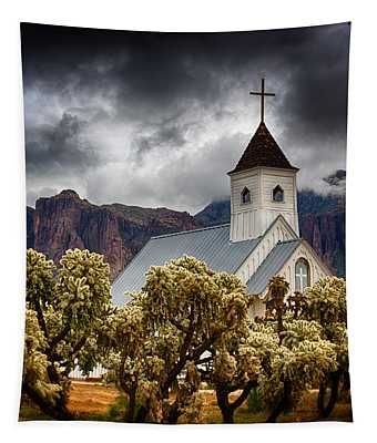A Stormy Desert Afternoon  Tapestry