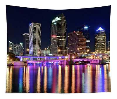 A Tampa Bay Night Tapestry