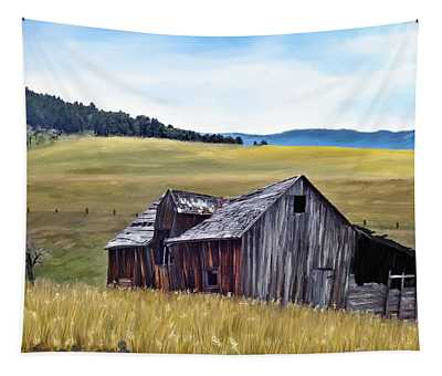 A Time In Montana Tapestry