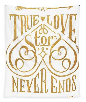 A True Love Story Tapestry