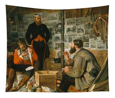 A Welcome Arrival, 1857 Tapestry