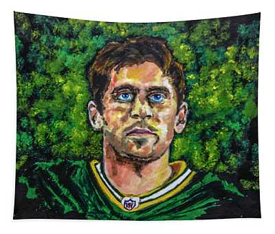 Aaron Rodgers Tapestry